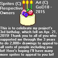 Pixel Sprite Montage is 3! by GodofDarness18