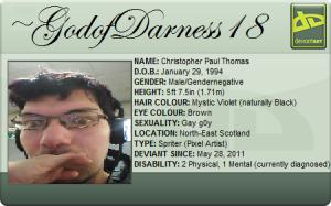 GodofDarness18's Profile Picture