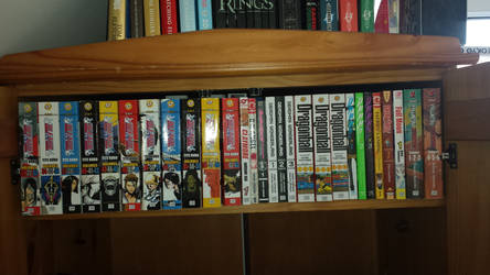 My Manga Collection 4 (As of Feb. 24, 2018) by GodofDarness18