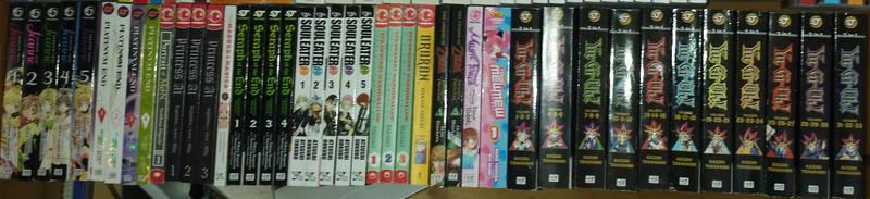 My Manga Collection 6 (As of Feb. 24, 2018) by GodofDarness18