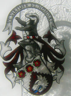 Heraldic Badger and Wolf by rdwGlass