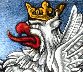 Griffin. Stained Glass. by rdwGlass