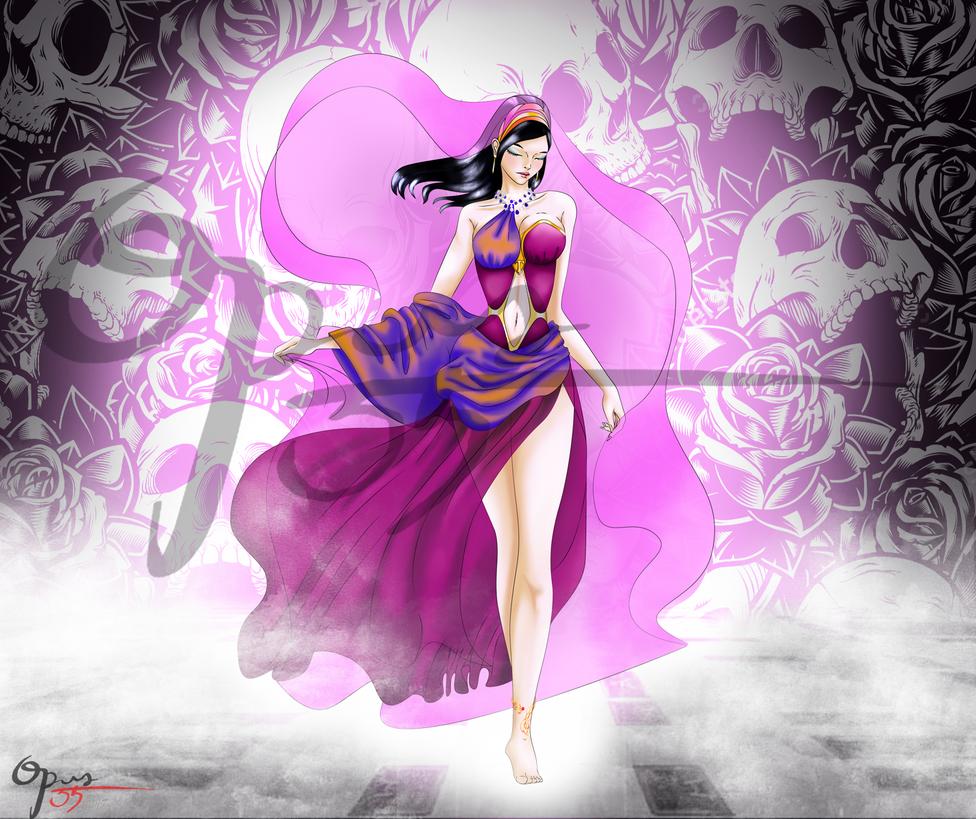 Princesa Cassandra de Troya by Opus-35
