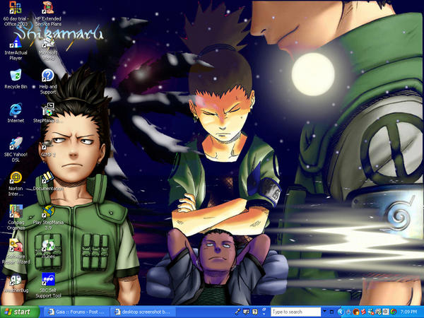 Desktop Screenshot: Shikamaru by Lilkkyy