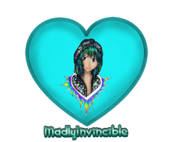 Madlyinvincible logo w name by TheeFashionista