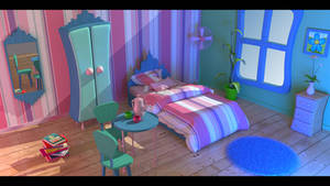 Toon Bedroom