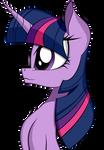 Side face Twilight Sparkle