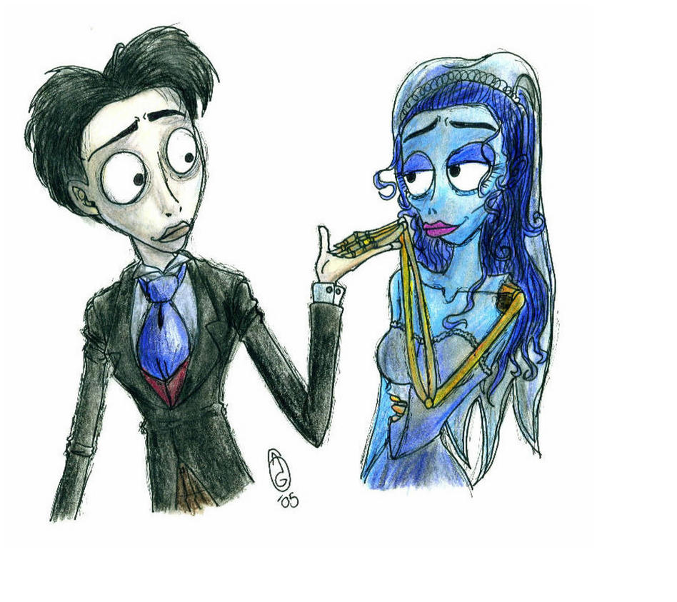 Corpse Bride- Victor And Emily by AGirlCalledFred on ...
