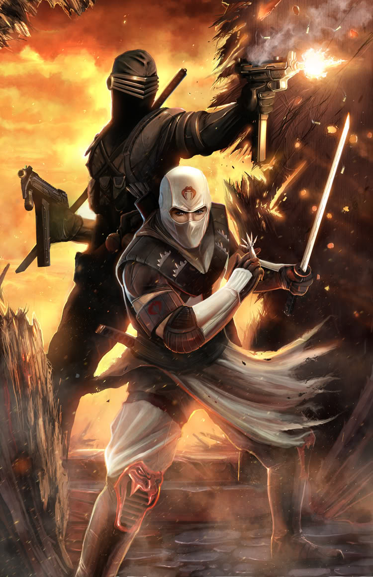 Storm Shadow and Snake Eyes by shadowlabs