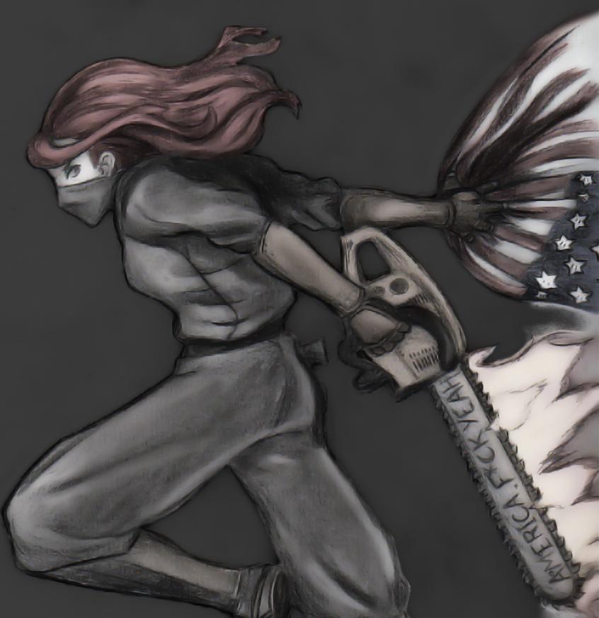 Obscurus Lupa: American Ninja by PhilWiesner