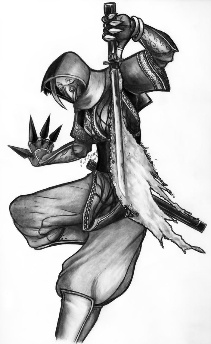 Krinsyn - Glitter Ninja by PhilWiesner