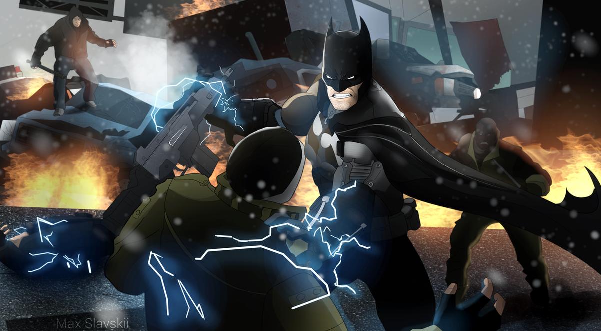 Batman by OrangeFreeman