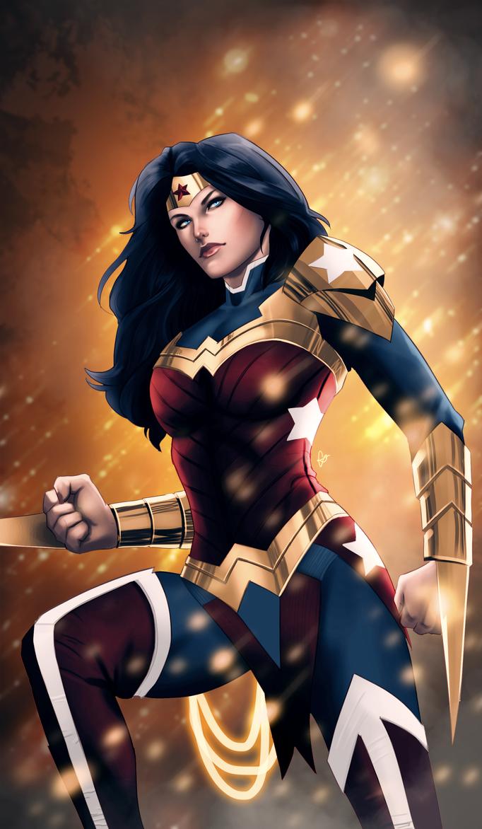 Wonder Woman by OrangeFreeman