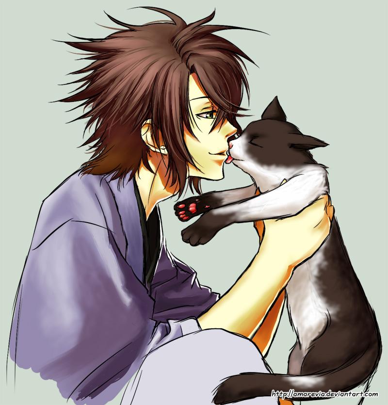 Hakuouki Cat Person By Amarevia On Deviantart
