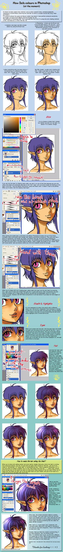How Szils colours - Photoshop by Amarevia