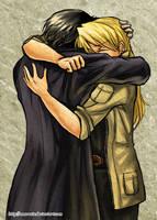 Royai - Hug by Amarevia