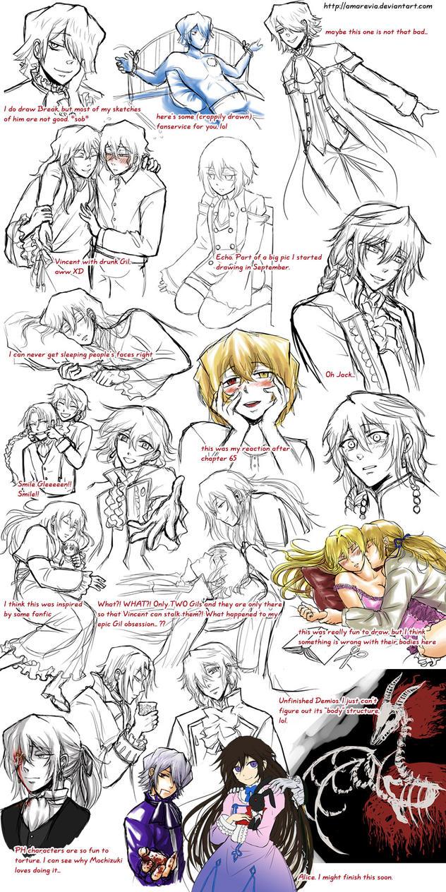 Pandora Hearts dump 2 by Amarevia