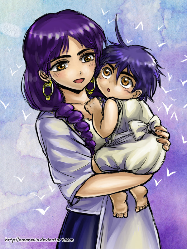 Magi - Esla and Sinbad by Amarevia