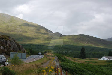 Highlands do have traffic