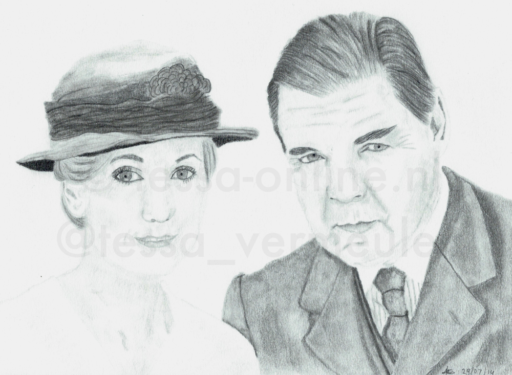 John Bates and Anna Bates-Smith by tessa1981