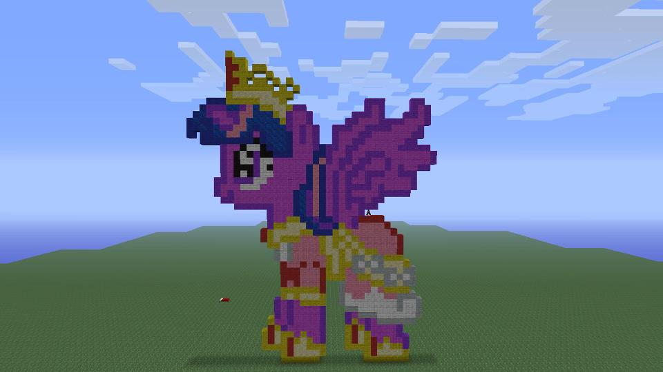 My little pony minecraft