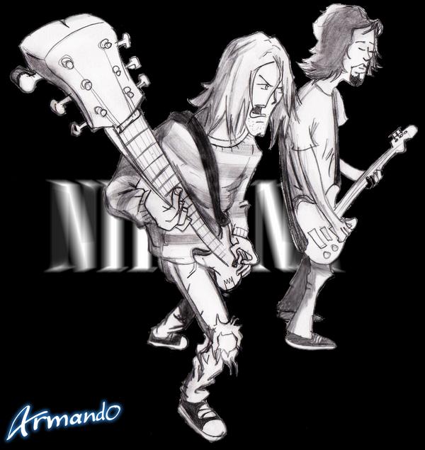 kurt Cobain by okami10
