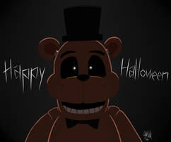 Halloween at Freddy's by Katonator