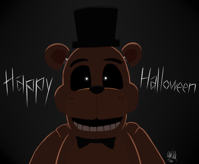 Halloween at Freddy's by Katonator on DeviantArt