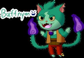 Yo-Kai Buffnyan by Katonator