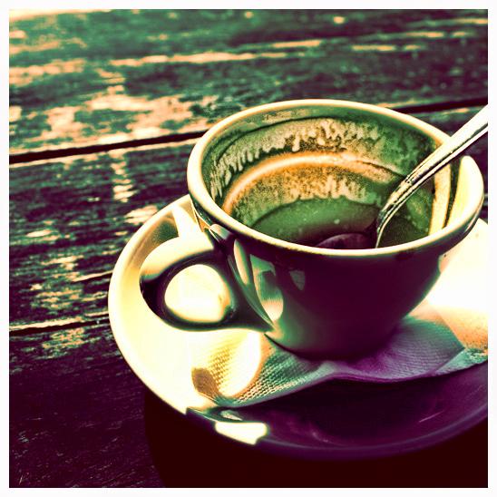 coffee by ironicna