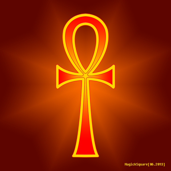 Ankh by MagickSquare o...