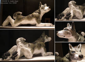 Werewolf Sculpture - Auction by ugly-dog