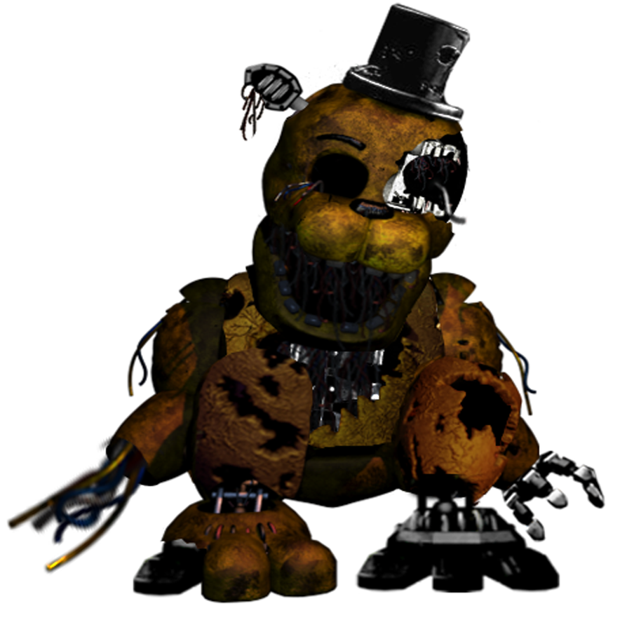 Ravaged Golden Freddy by Dangerdude991 on DeviantArt