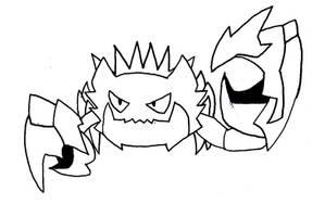 Kingler Evolution
