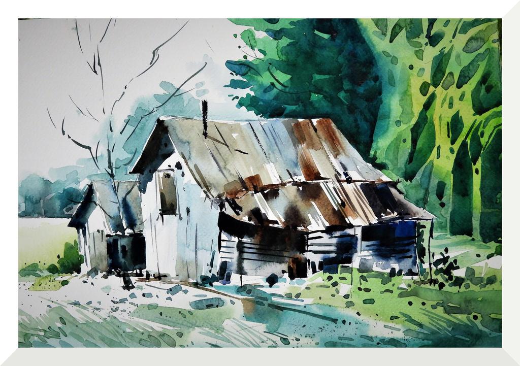 A Weak Barn 2 by anglewind