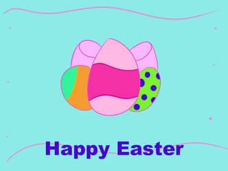 Happy Easter by foxebony