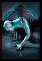 Divine Vibrations -Anaglyph 3D by justinbonnet