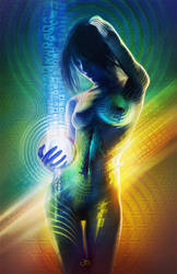 Prismatic Singularity by justinbonnet