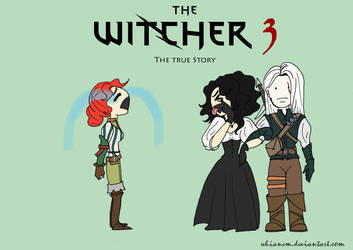 The Witcher 3 - The true Story by whianem