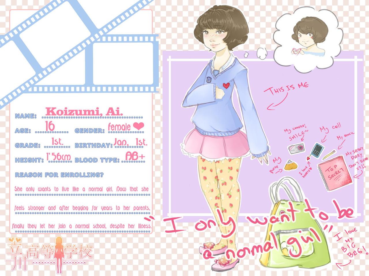 TH - Ai Koizumi by whianem