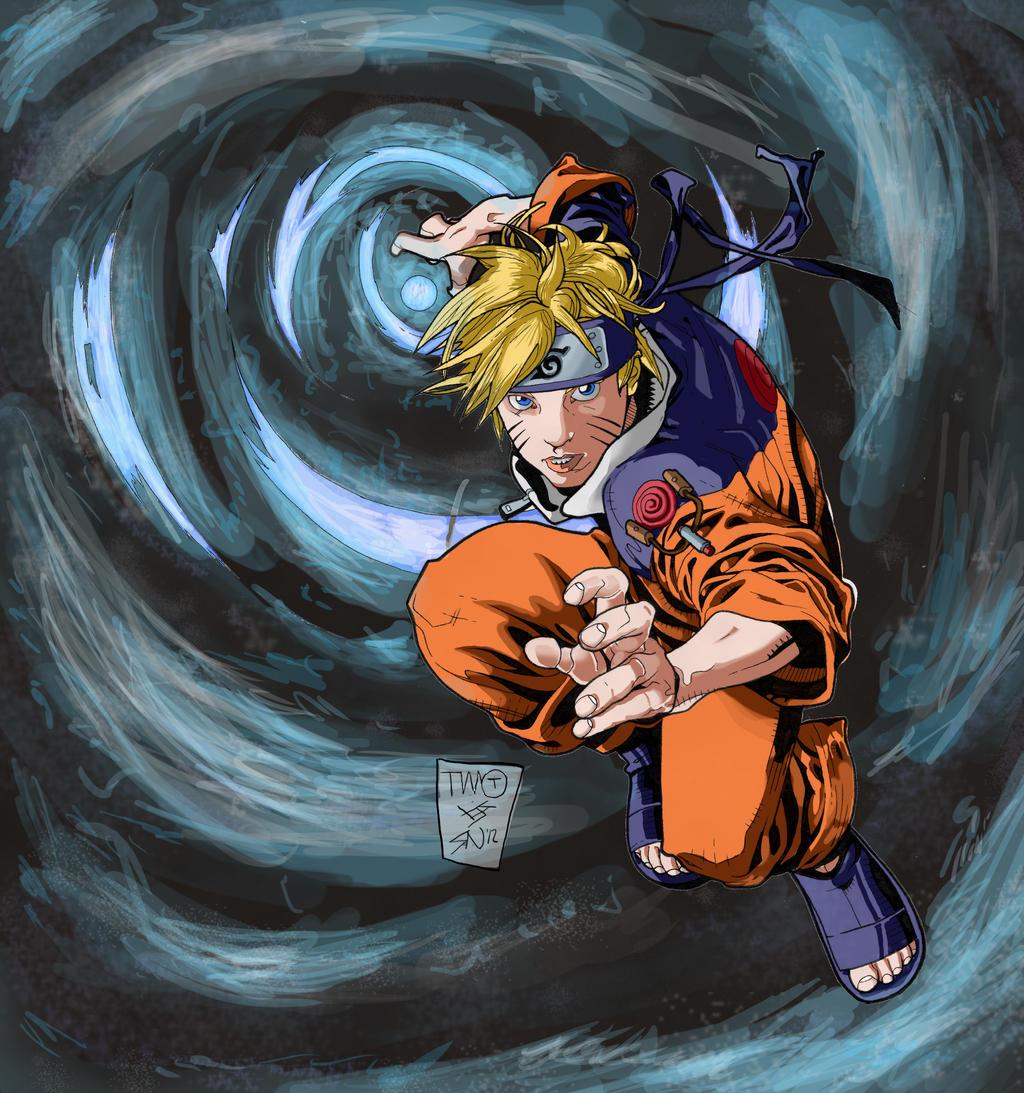 Naruto Rasengan: Battle Artist: Colour Battle- Naruto