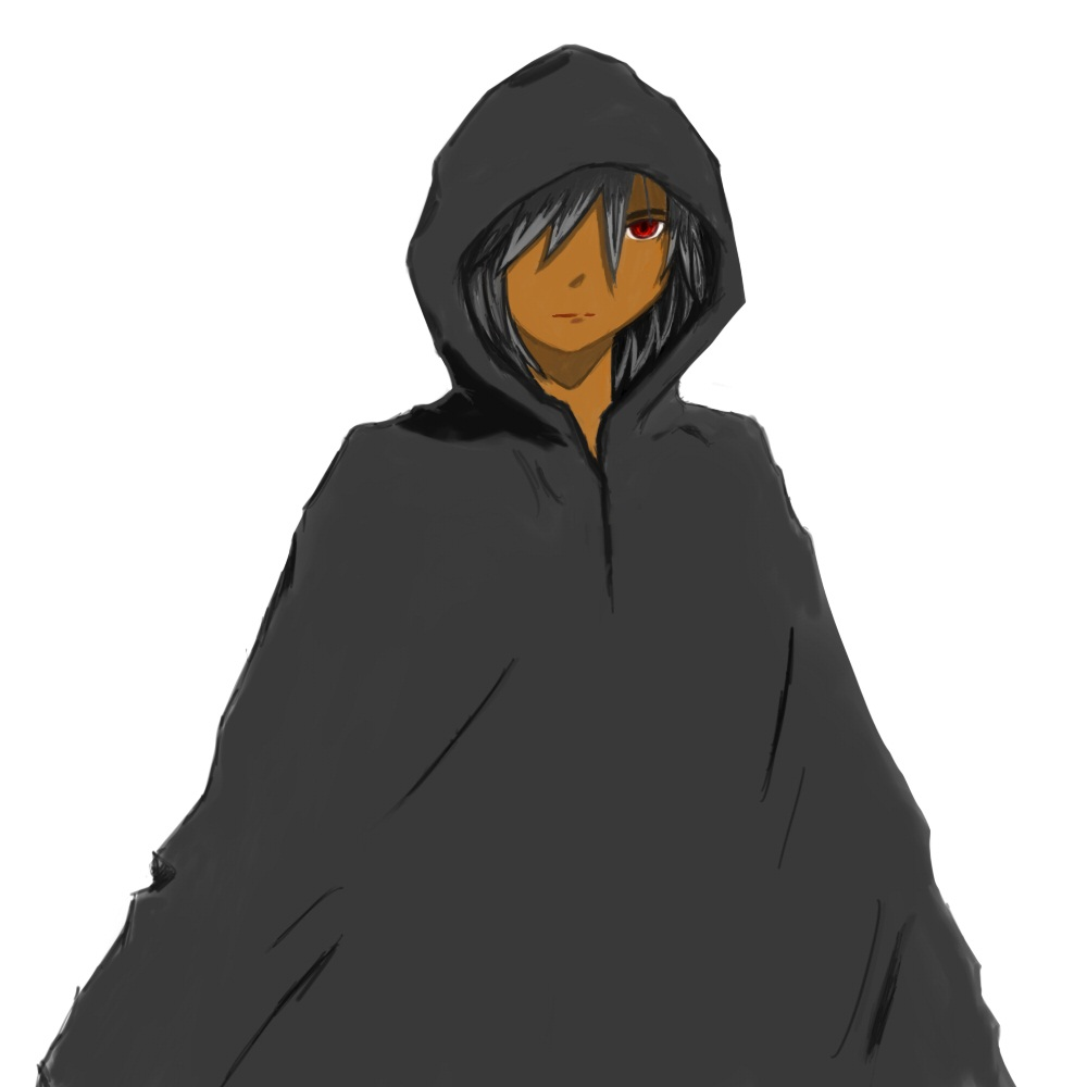 Free Cloaked Character Design All Four Sides