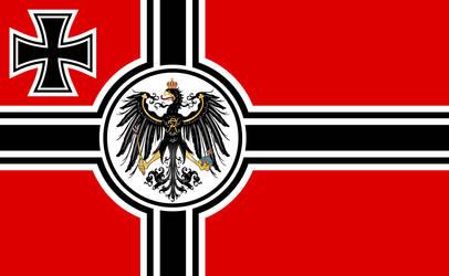 The new Reichskriegsflagge by Uskok