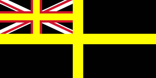 Black Ensign of the Royal Navy by Uskok