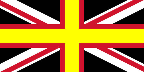 Welsh Flag of the United Kingdom by Uskok