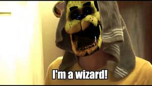 Golden Freddy??!! But HOW??!!