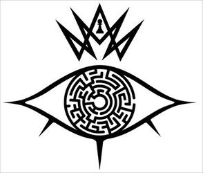 The King's Eye - Logo - Black
