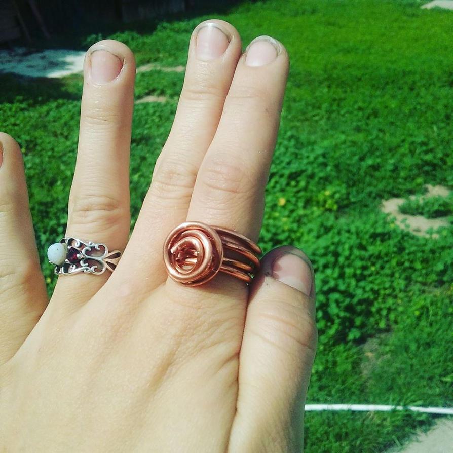 Copper ring by Sataria-Zardania