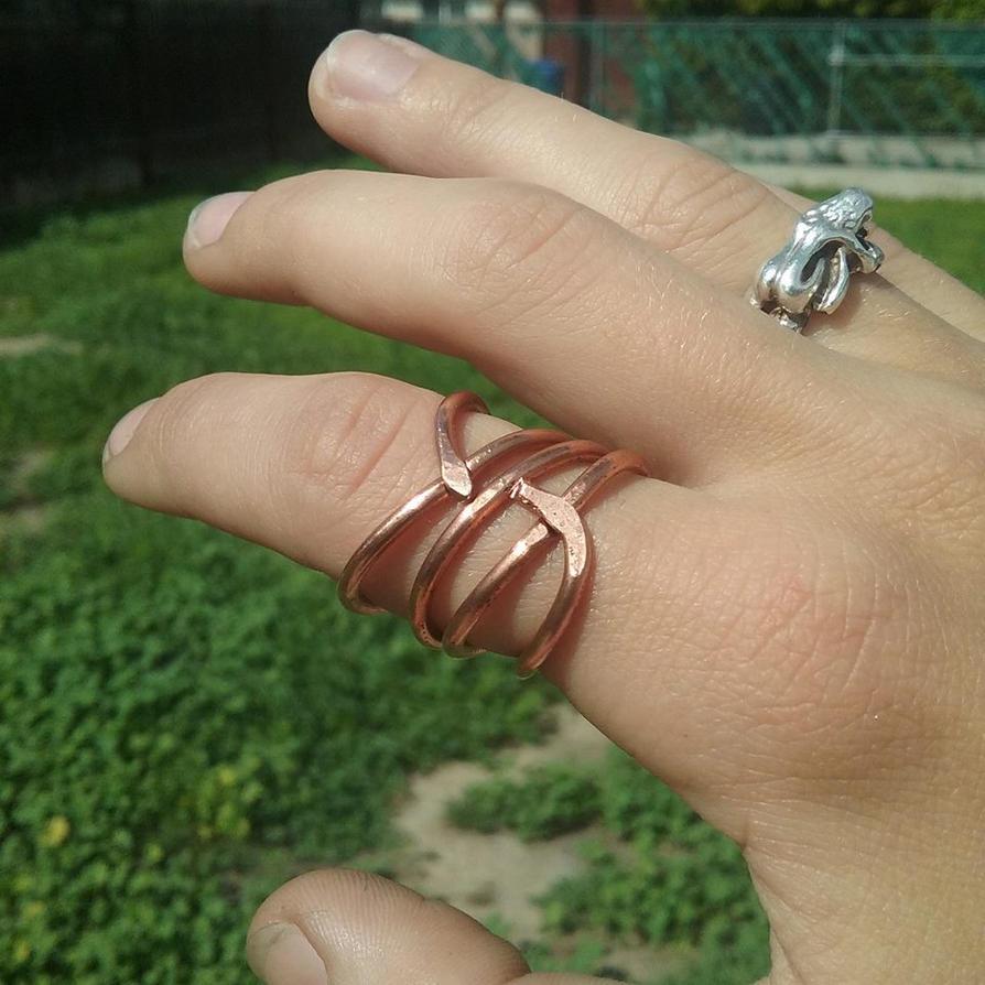 Copper ring come again by Sataria-Zardania