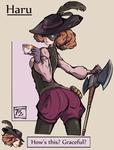 Haru Character Art